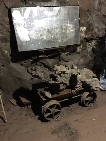 Hancock, MI: Underground tours are both fascinating and a reminder of how hard this life was.