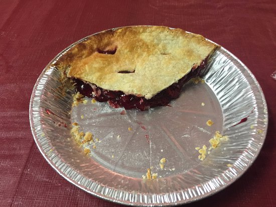 Dawson Creek, Canada: Our Homemade Cherry Pie