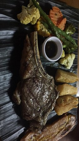 Novillitos: Cowboy and Ribeye....simply amazing! Easily one of the best steakhouses in costa rica!!!