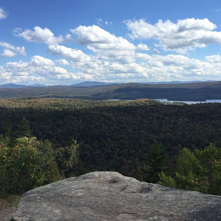 Inlet, NY: View from summit of Black Bear Mountain_Sept2016