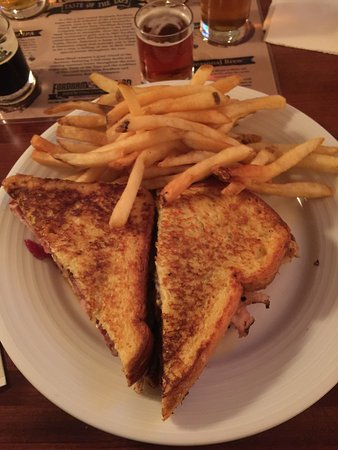 Savage, MD: Count de Monte Cristo - ham, turkey, bacon w/plum preserves on french toast - very filling