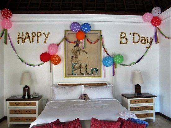Birthday Decoration Room