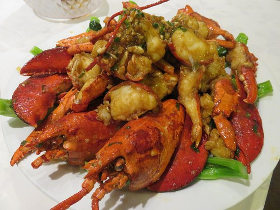 Richmond Hill, Canadá: Stirred frr lobster with Maggi sauce - excellent!