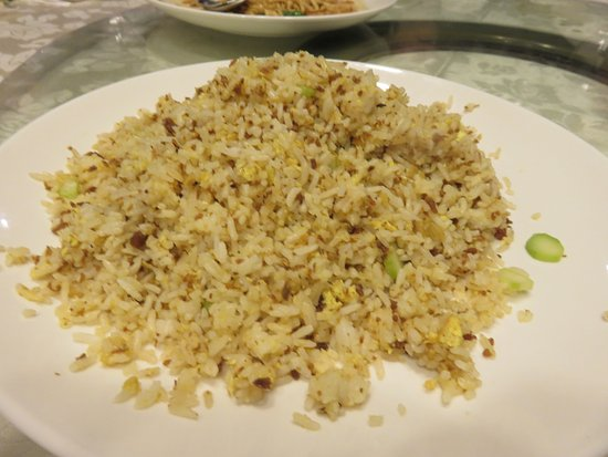 Richmond Hill, Canadá: Fried rice with Lobster tomale