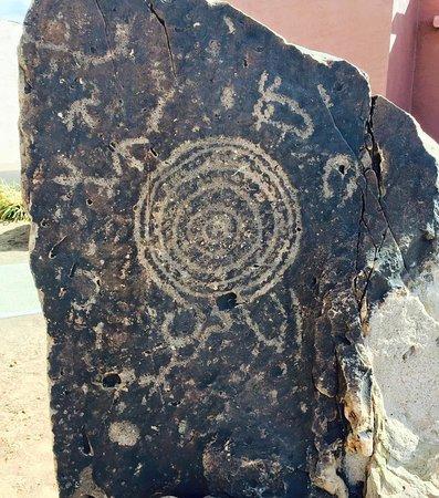 Kykotsmovi Village, AZ: ancient petroglyphs