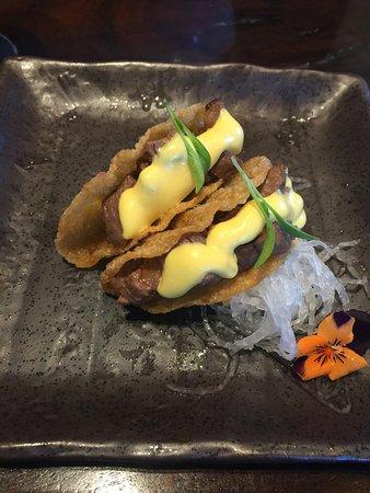 Burswood, Australia: My favourite - wagyu taco