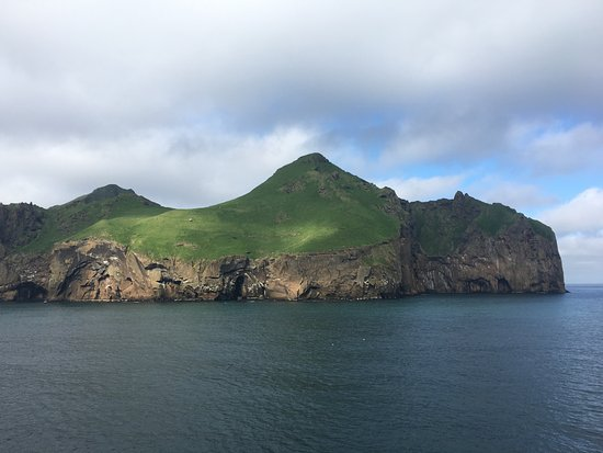 Vestmannaeyjar, Iceland: View from the ferry