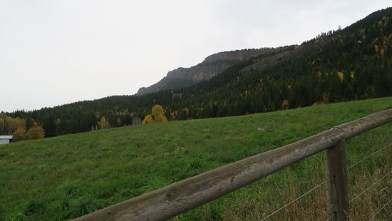 Enderby, Canadá: You hiked to the top of that!