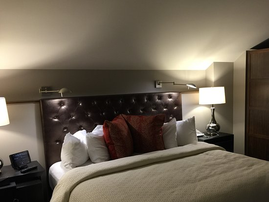 Lodo Suite Sleeping Area Picture Of The Crawford Hotel Denver Tripadvisor