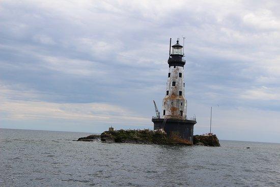 Parque Nacional Isle Royale, MI: lighthouse