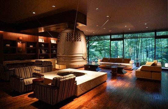 Zao-machi, Japan: Love their lounge area