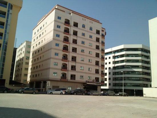Rose Garden Hotel Apartments Bur Dubai Building