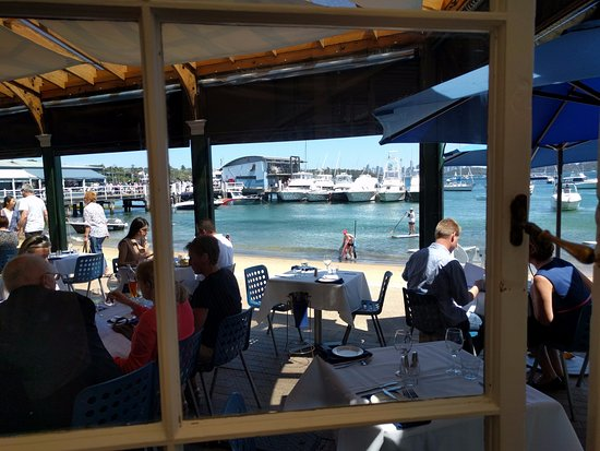 Watsons Bay, Avustralya: View of the beach from Doyles.