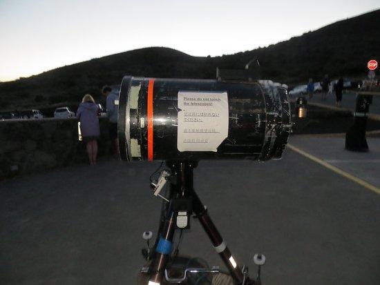 Maunakea Visitor Information Station : Telescope