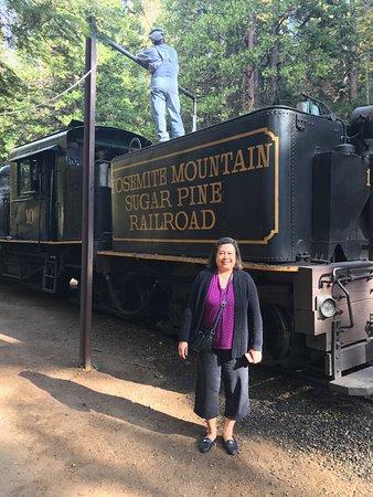 Fish Camp, Kaliforniya: Train Ride
