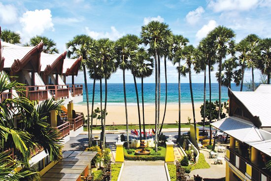 Woraburi Phuket Resort & Spa: Beach view