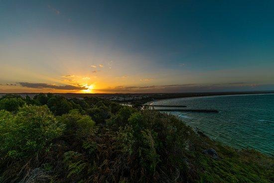 Evans Head, Australien: Sunset from Razorback Lookout