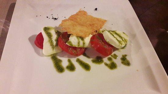 Bellavista: tomates mozarella