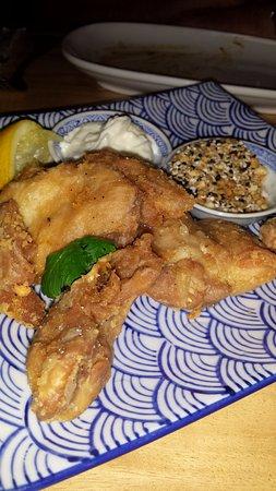 East Fremantle, Australia: crispy chicken, garlic sauce and dukkah