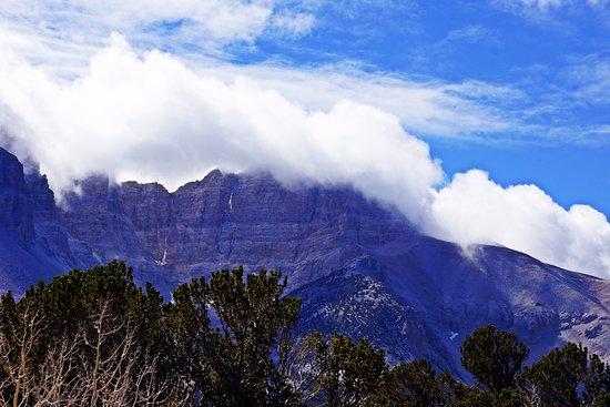 Baker, NV: Wheeler's Peak is a headwall to a glacier