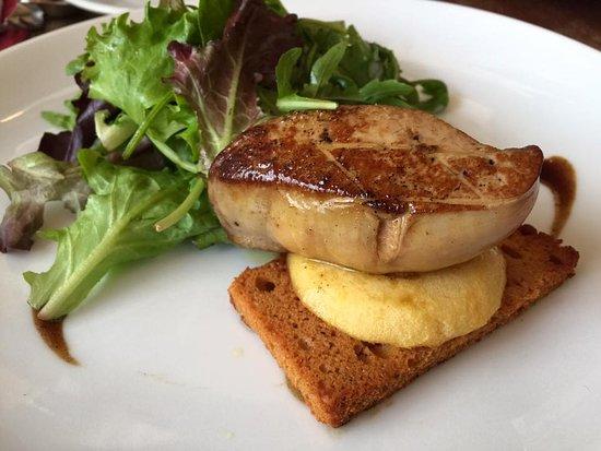 Pan seared foie gras picture of comptoir de la - Comptoir de la gastronomie ...