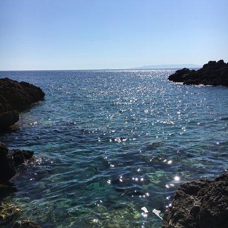 Katikies Manis: Private swimming area