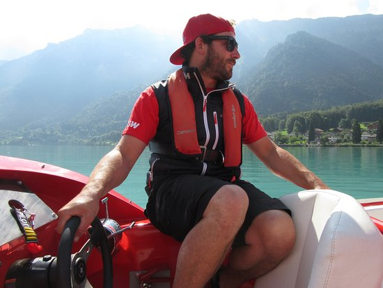 Jet Boat Interlaken: Thank you Captain Phillip!