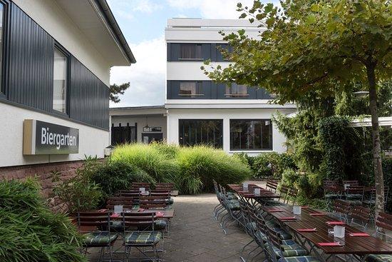 Offenburg, Alemania: Biergarten