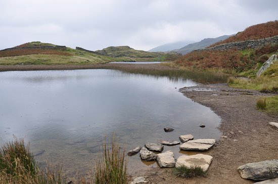 Grasmere, UK: view of the tarn looking in the direction of helm cragg