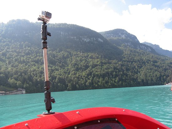 Jet Boat Interlaken: Go pro takes great pics