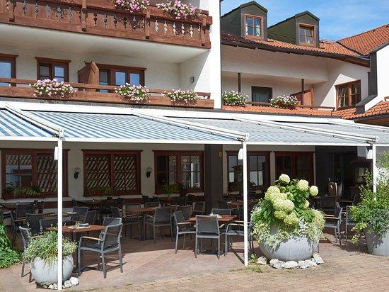 Immenstadt im Allgau, Alemania: Restaurantterrasse