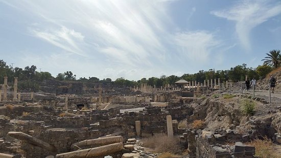 Beit She'an, Israel: view from the hill