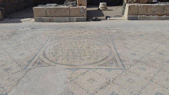 Beit She'an, อิสราเอล: mosaic