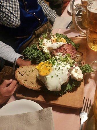 Steak tartare - Picture of Kafer Wiesn-Schanke, Munich - TripAdvisor