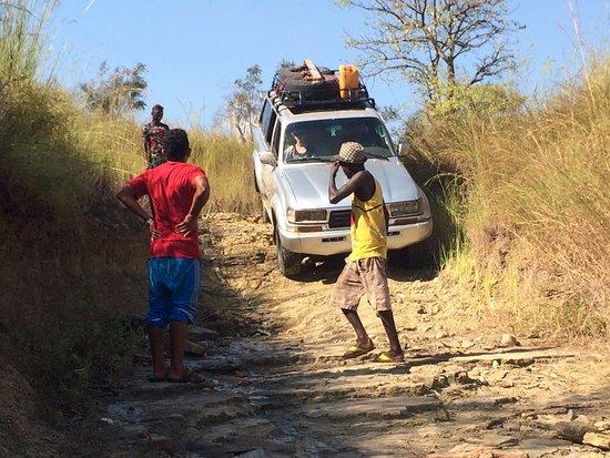 Toliara Province, Madagascar : Piste tout terrain, sportif