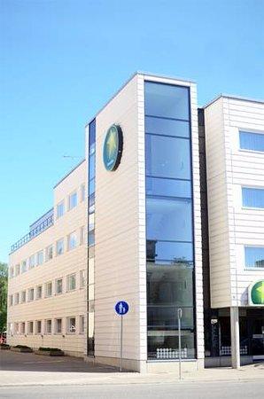 Greenstar Hotel: Фасад отеля.