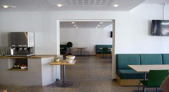 Greenstar Hotel: Место для разогрева питания.