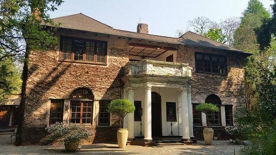 Foxwood House: The main house