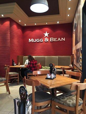 Greater Johannesburg, Sudáfrica: Mugg n Bean the Glen