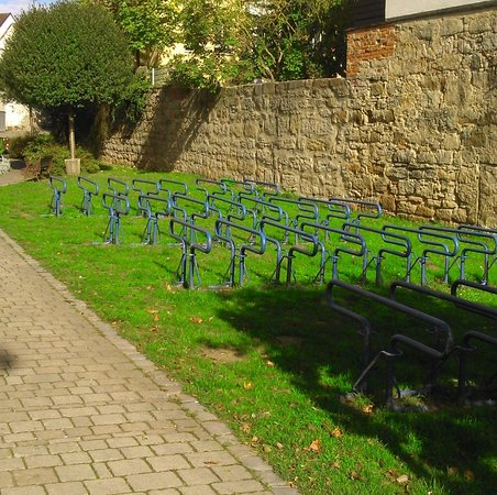 Freibad Herzogenaurach - bicycle parking