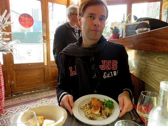 Saint-Mande, França: Un ottimo risotto