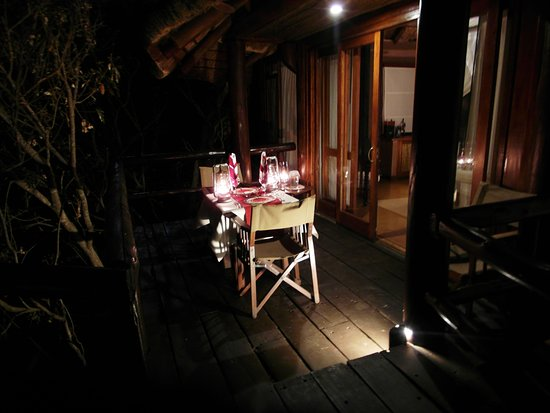 Welgevonden Game Reserve, Sudáfrica: Private Dining