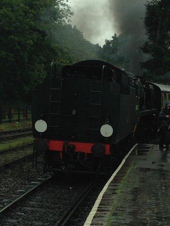 Kidderminster, UK: Our train