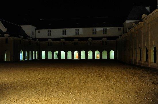 Fontevraud-l'Abbaye, Frankreich: Fabelhafte nächtliche Rundgang