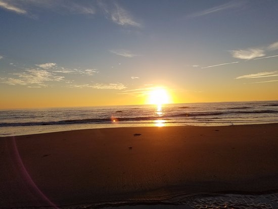 Rye, NH: we walked to the beach at sunrise...beautiful!