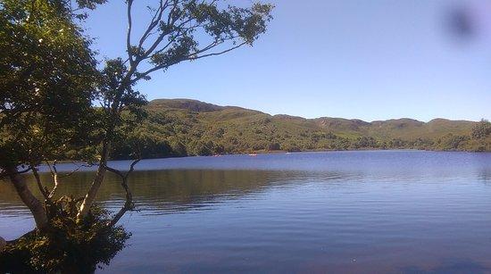 Caragh Lake, أيرلندا: Scouts Kayaking at Cappanalea