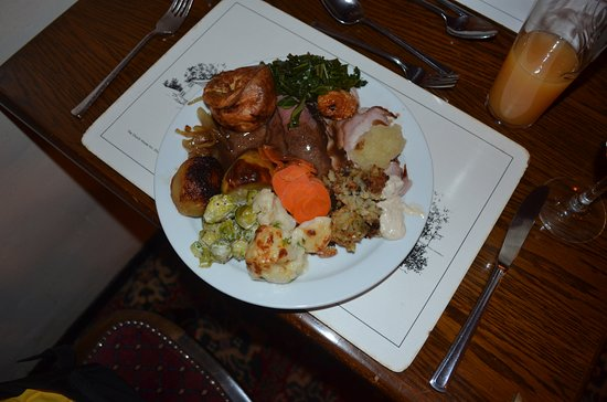 Kingsbridge, UK: Creative Carvery sample
