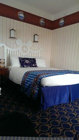 Le camere hanno i letti ad una piazza e mezza, alla francese!