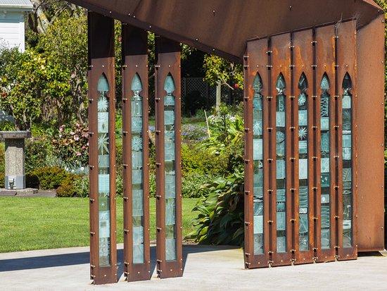 Wanganui, Nueva Zelanda: Entry to the homestead gardens