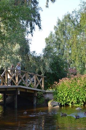 One of the bridges in Hatanpää arboretum